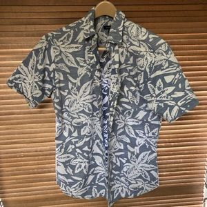Van Heusen Men's Oversized Small Casual Shirt